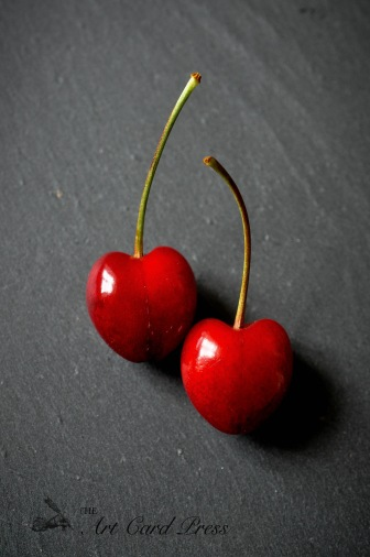 Cherries on slate 1
