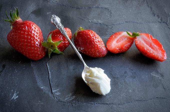Strawberries slate 7