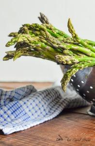Asparagus washed