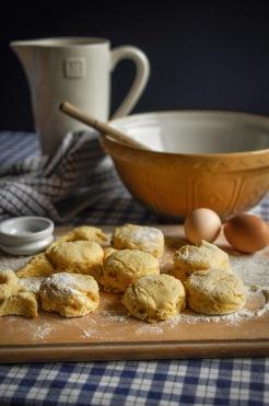 Baking scones 3