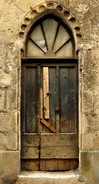 Old door P