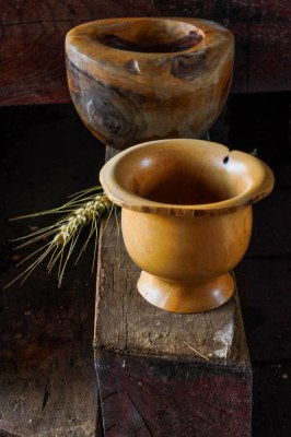 Wabi Sabi bowl and mortar