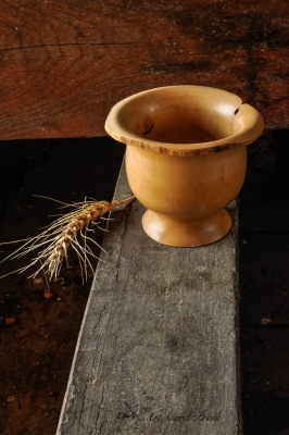 Wabi Sabi bowl and winter barley 4