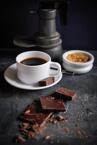 Coffee cup sugar black cafetiere