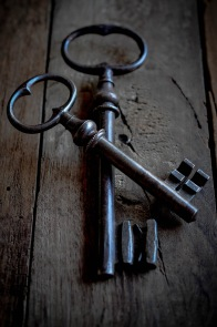 Two keys crossed