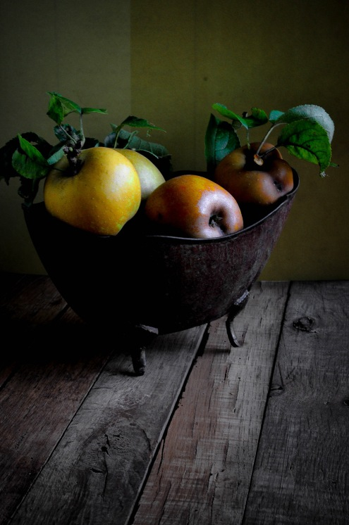 Apples golden baroque planter 6