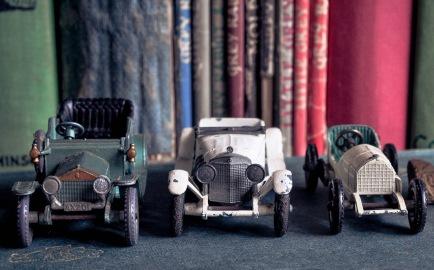 3 Lesney cars