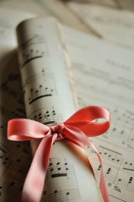 Music rolled Ribbon 4
