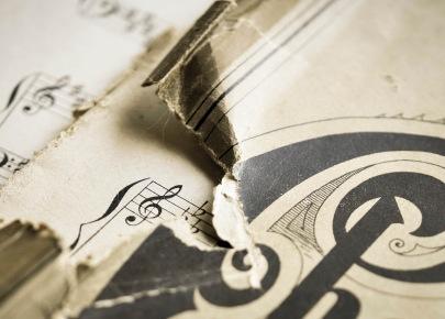 Vintage Music detail