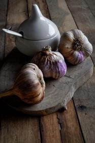 Rose Garlic and roaster