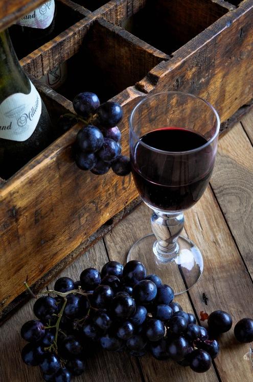 Wineglass Bottle crate