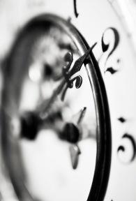Clock face 13 mono