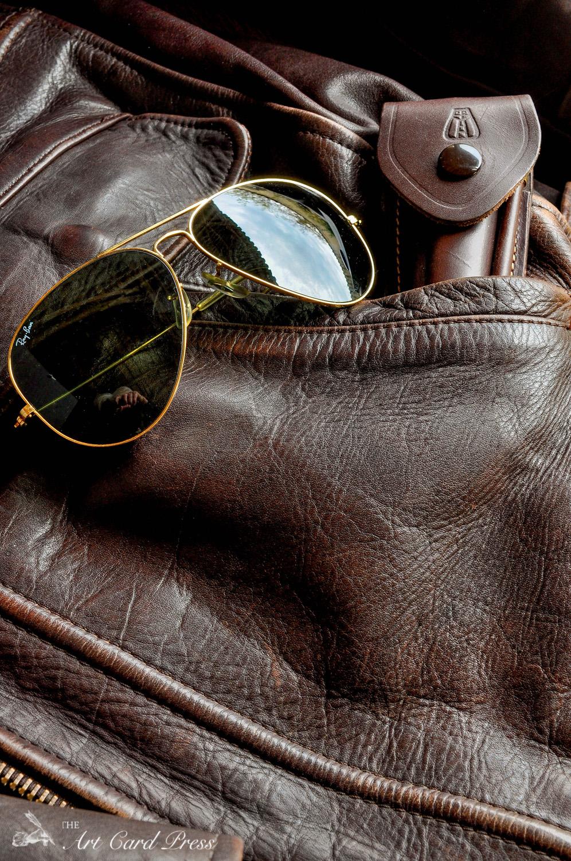 Leather jacket pocket 1
