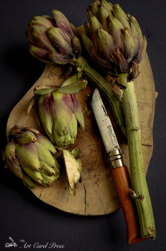 Artichokes section knife 3
