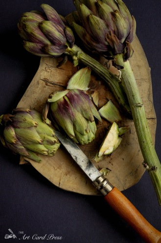 Artichokes section knife 5