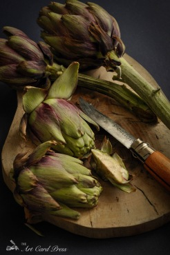 Artichokes section knife 6