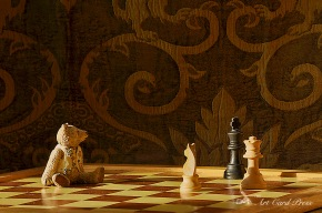 """Checkmate"" whispered Aloysius"