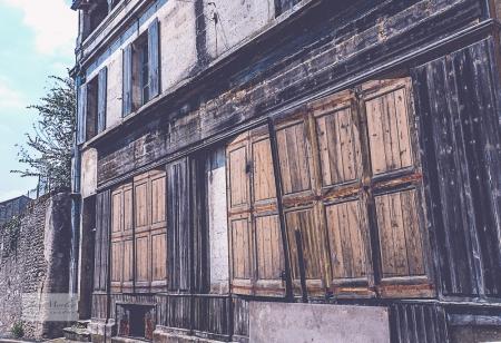 Montmoreau Doors old shop side view