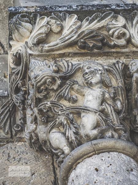St Pierre door carving detail 2