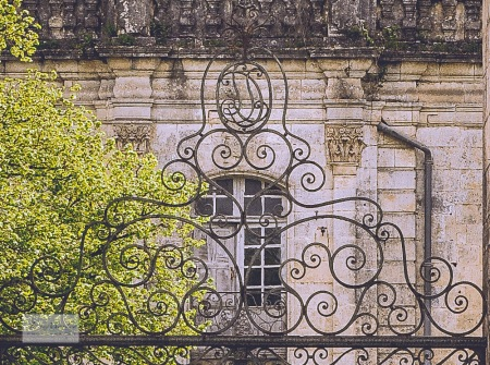 La Couronne abbey close-up