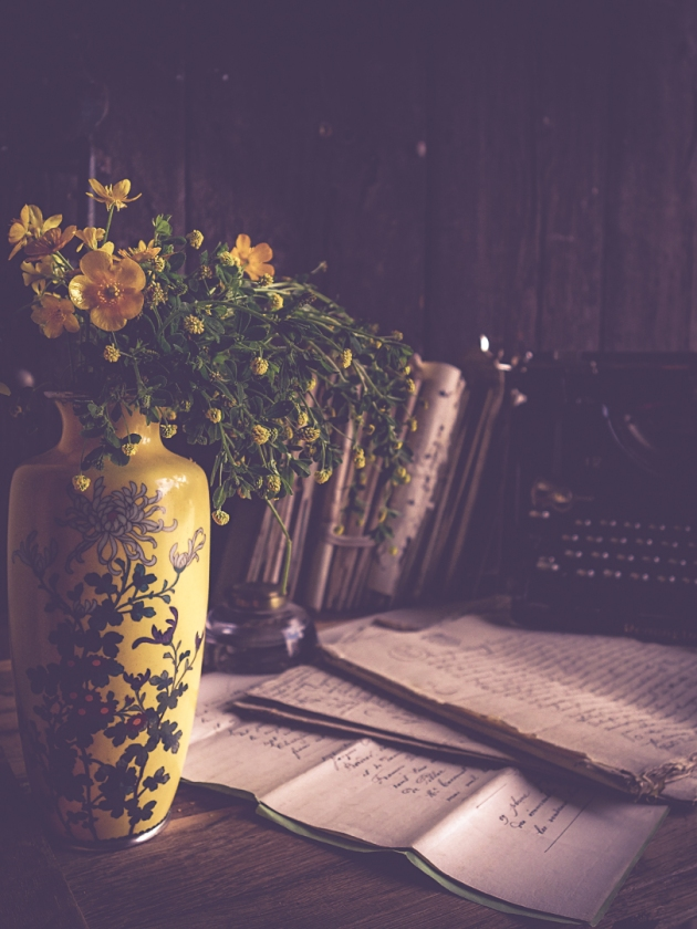 Wordless Wednesday The Yellow Vase View From A French Hillside